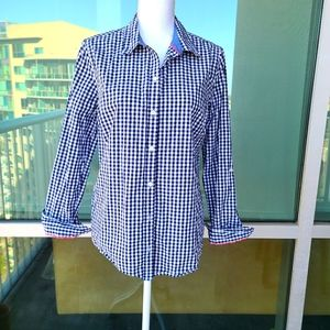 Charter Club Checkered Button Down Shirt